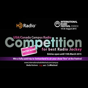 IRF Search for the Best US/Canada College Radio Jockey 2015 (Feb-11-2015) [House/Techno]