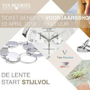 Evenement benefiet Ticket 13 April Van Moorsel en Bosman.
