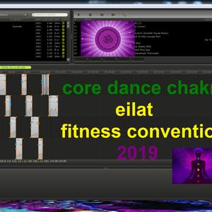 Core dance chakra- eilat fitness convention 2019