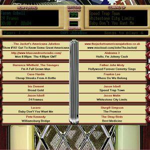 The Jacket's Americana Jukebox - Show #161