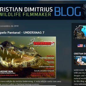 Wildlife Film Maker Cristian Dimitrius