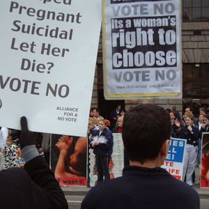History of the pro-choice movement in Ireland 1980's to 2009