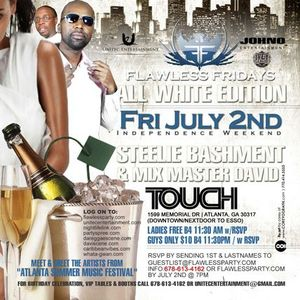 Flawless All White July 2nd