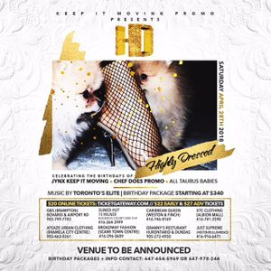 MON A GALLIS - HD HIGHLY DRESSED PROMO CD DISC #1 (2018)