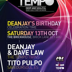 Tempo Sessions on SS radio with the Tempo Twins (Dave Law & DeanJay) (09/08/12)