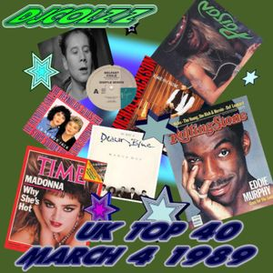 UK Official Top 40 Singles March 4 1989