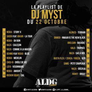 ALDGShow de DJ MYST AKA LA LEGENDE sur Generations FM emission du 22 octobre 2017 PART I