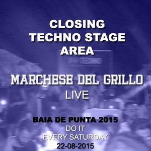Closing Techno Stage Area - Baia de Punta - 015 22 AUG