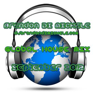 Brandon Di Michele - Global House Mix - September 2012