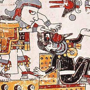 Ritual maya de perforación