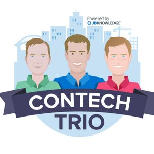 #ConTechTrio Podcast Episode 1.12 - #Construction #AEC #Technology with Stacy Scopano @sscopano from