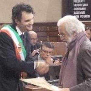 Cerimonia di conferimento della cittadinanza onoraria a Luca Ronconi - 15/11/2014
