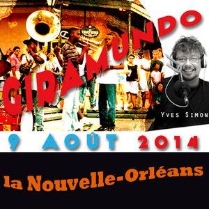 Giramundo - La Nouvelle-Orléans en musique et en récits avec Yves Simon (9 août 2014)
