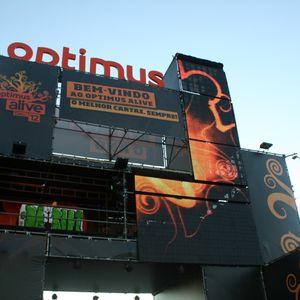 The Root @ Optimus Alive 2012 (15-07-2012)