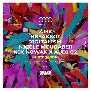 2016-04-06 - Nicole Moudaber @ Boiler Room x Audi Q2, Audi City Berlin
