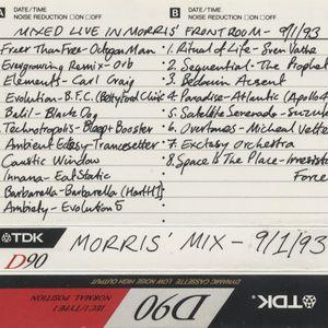 Mixmaster Morris Live mix 09/01/93 side A