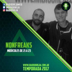 NONFREAKS - 005 - 05/04/2017 - MIERCOLES DE 21 A 23 POR WWW.RADIOOREJA.COM.AR