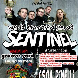 SENTINEL SOUND @ CSOA PINELLI - GENOVA - 02/10/2004