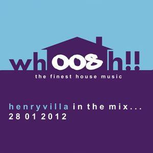HenryVilla - Live On 'Whoosh!!' Opening Night, Onlyoldskool Radio 28.01.2012