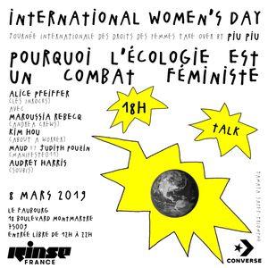 Women's Day Take Over : Pourquoi L'Écologie Est Un Combat Féministe - 08 Mars 2019