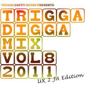 TRIGGA DIGGA MIX VOL.8 - UK 2 JA EDITION ls. GGK