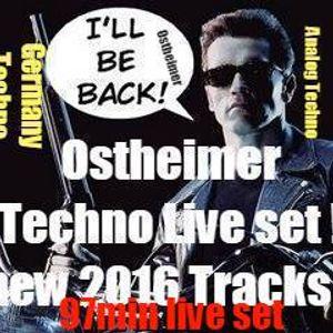 Be Back Mix   Ostheimer long 97min  Set First Class Beats .G..Osthei..Techno Producer !Track List On
