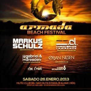 Ana Criado - Live @ Armada Beach Festival 2013, Argentina (25.01.2013)