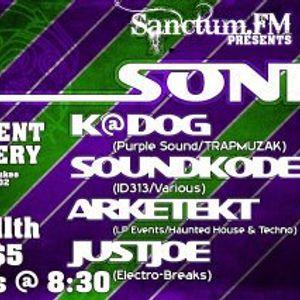 SoundKode at SonicScene2, Tangent Gallery, DETROIT, MI