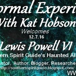 Paranormal Experienced with Host Kat Hobson_20161207_Lewis Powell IV