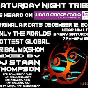 Saturday Night Tribe (Original Air Date 12/12/2015 on World Dance Radio)