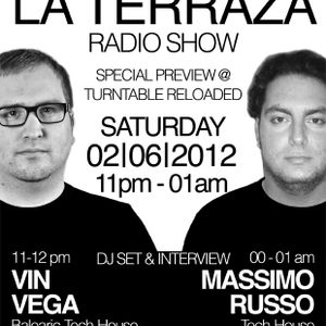 Vin Vega & Massimo Russo - La Terraza Radio Show (02.06.2012)