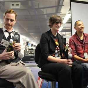 #Comicfest 2014 Panel Discussion: Ant Sang, Robyn Keneally, & Grant Buist