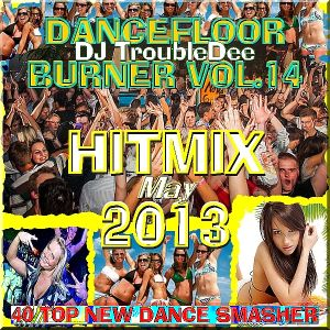 DANCEFLOOR BURNER VOL.14 the Ultimate HITMIX Edition May 2013 mixed by DJ TroubleDee