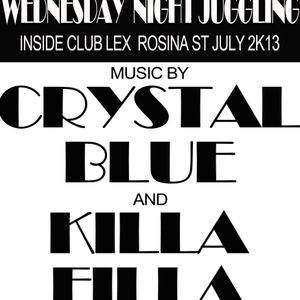 CRYSTAL BLUE LS KILLA FILLA@CLUB LEX JULY 2K13