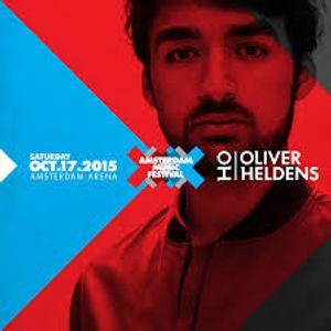Oliver Heldens Live @ Amsterdam Music Festival (ADE) 17/10/2015
