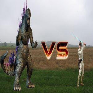 Debate: Godzilla VS Luke Skywalker