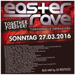DJ Restlezz - Easter Rave 2016 Bus Mix