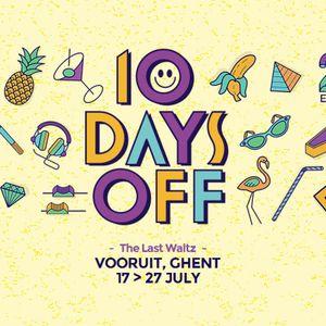Perc @ 10 Days Off - The Last Waltz - Day 01 - Belgium 17-07-2014