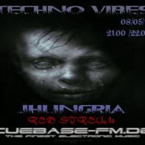 TECHNO VIBES PODCAST ON CUEBASE-FM 08/05/12