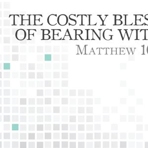 The Costly Blessing of Bearing Witness