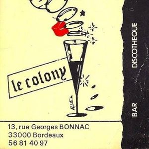 Cristof Salzac - Le Colony - Bordeaux - 09.05.1987