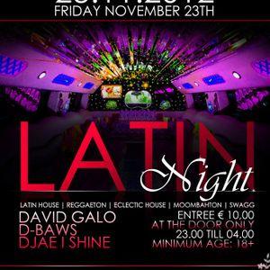Live @ Latin Night (opname flavour radio)