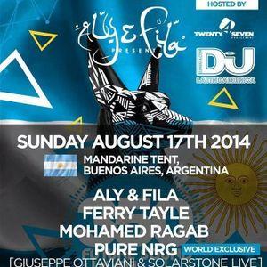Aly & Fila B3B Giuseppe Ottaviani & Solatstone(Pure NGR)@Live,Future Sound Of Egypt 350 , Argentina