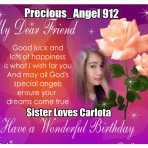 Happy Birthday Sister Loves Carlota