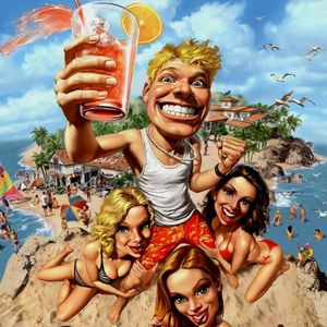 Nuno Fonseca - party in the beach