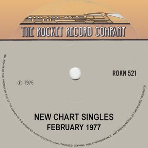NEW CHART ENTRIES FOR FEBRUARY 1977