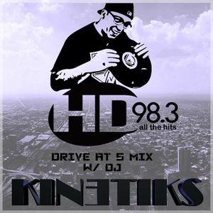 THE JOE SHOW presents - DJ KINETIKS on the HD WEEKEND KICK OFF MIX (HD 98.3FM WHHD - AUGUSTA)