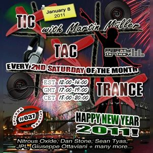 Tic Tac Trance #037 with Martin Mueller
