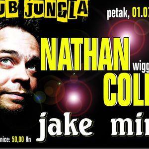 Nathan Coles live  @ Jungla Club - Split 01.07.11