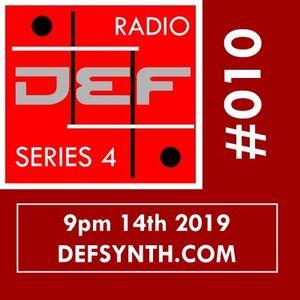 DEFSYNTH.COM Radio 14th Jan 2019 (Synthpop/Minimalwave/Industrial/J-rock)